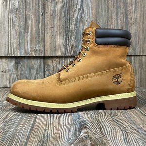 Timberland Mens 6 Inch Work Safety Boots Brown 11W